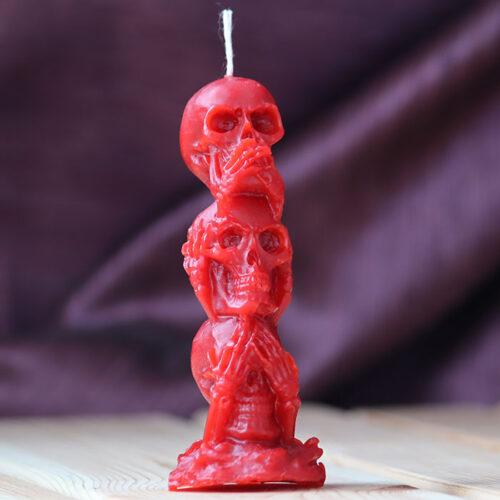 свеча черепа